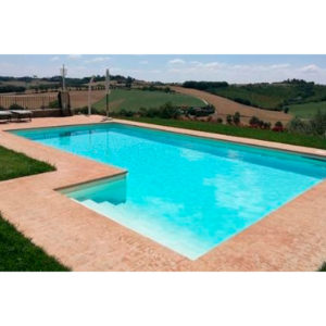 Piscine Blue & Green – Piscina Interrata in pannelli d'acciaio MAGNELIS: Quarz (shop)