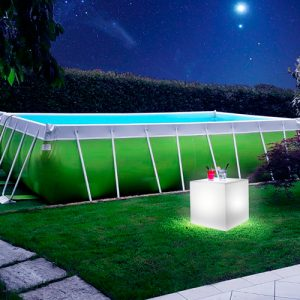 Piscine Blue & Green - Piscina Fuori Terra Laghetto POP 25 + cubo OUTDOOR